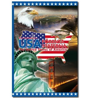 USA - FÖRENTA STATERNA - The United States of America